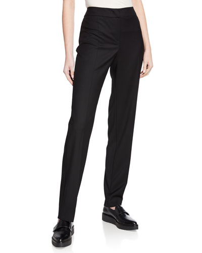Basic Stretch Wool Pants