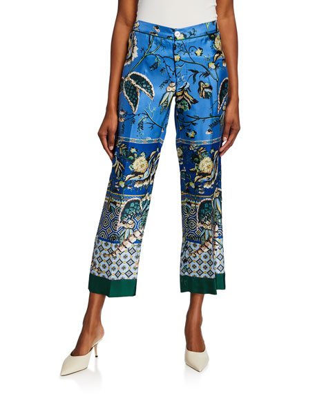 F.r.s For Restless Sleepers Pants CEO PATCHWORK VINTAGE CARRE TWILL PANTS