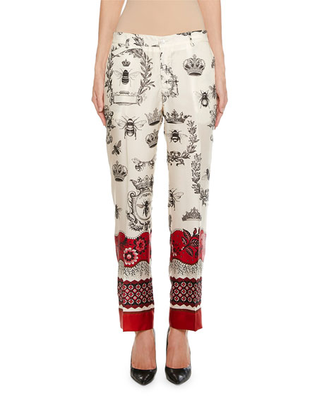 F.r.s For Restless Sleepers TARTARO CABOTINE QUEEN BEE TROUSERS