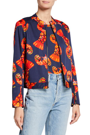 Libertine Lobster Graphic Jacket