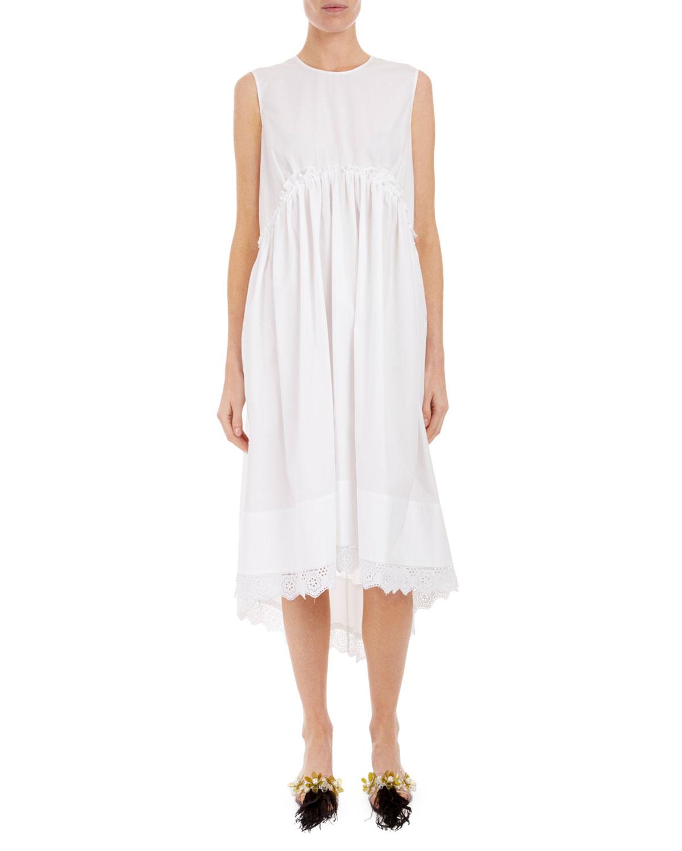 4d06190d8199 Simone Rocha Sleeveless Empire Waist Dress | Neiman Marcus