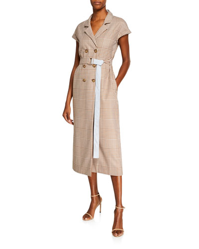 Belted Trench Shirtdress