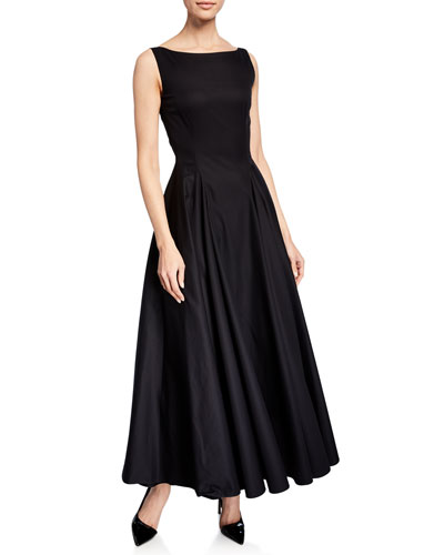 Ankle-Length Sleeveless Gown