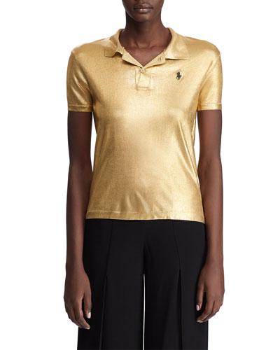 Metallic Classic Polo Shirt