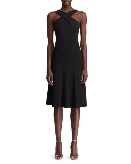 Ralph Lauren Dresses MYRIAN CRISSCROSS HALTER DRESS
