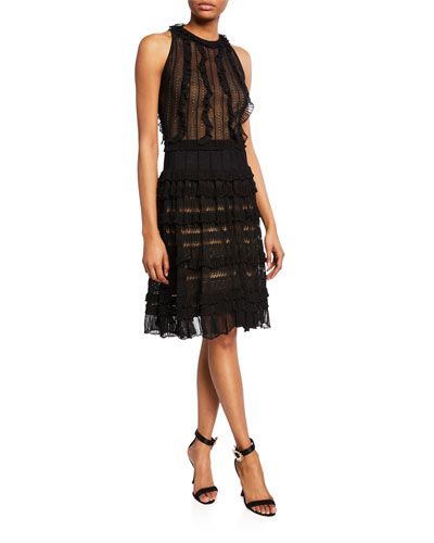 Chrysalis Knit Halter Dress