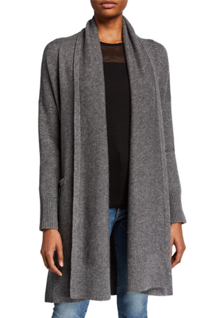 Co Wool-Cashmere Robe Cardigan