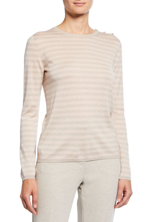 Maxmara Silk-Cashmere Berma Knit Sweater