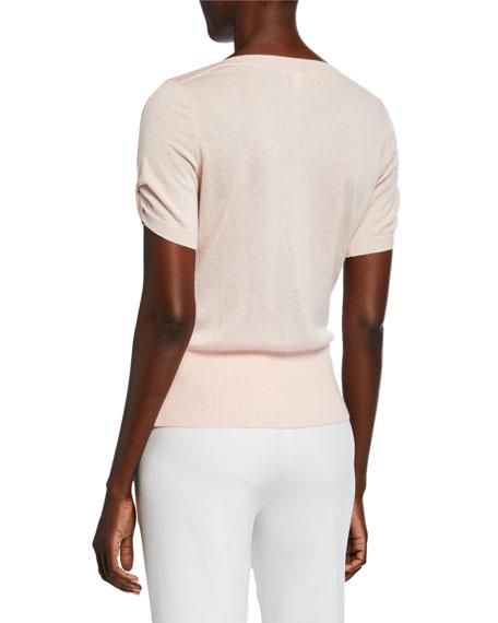 Maxmara Osteo Short-Sleeve Sweater