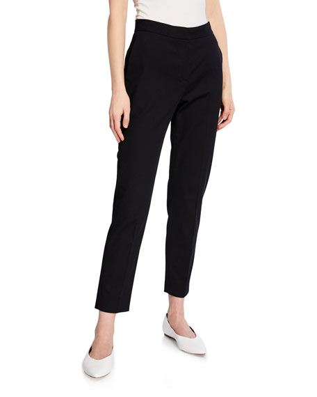 Rosetta Getty Pants CROPPED TAPERED-LEG TROUSERS