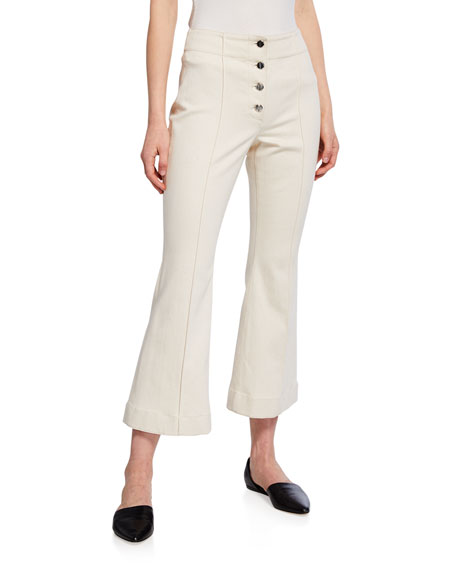 Rosetta Getty Jeans CROPPED FLARE JEANS
