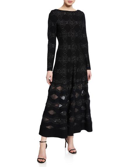 Alaïa Dresses METALLIC FLORAL DRESS