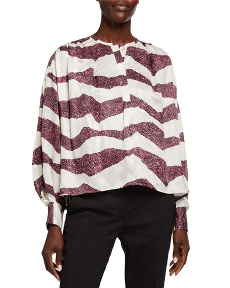 Isabel Marant Rosy Zebra Tunic