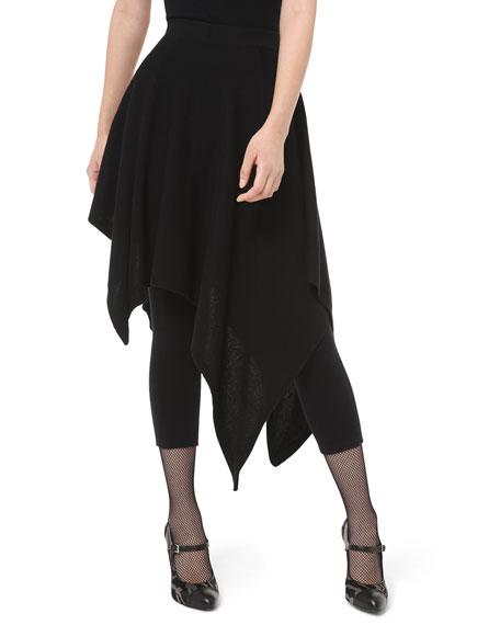 Michael Kors Collection Cashmere Asymmetric Skirt