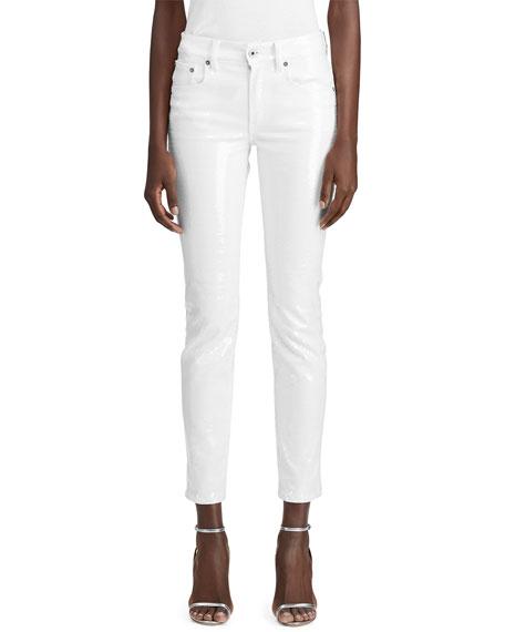 Ralph Lauren Jeans 400 MATCHSTICK SEQUINED JEANS