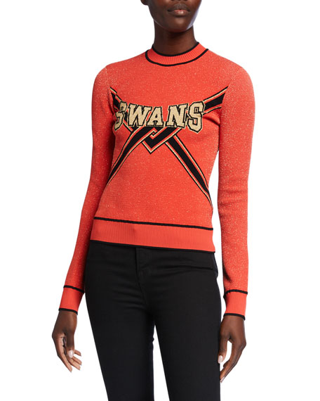 Off-White SWANS Collegiate Sweater