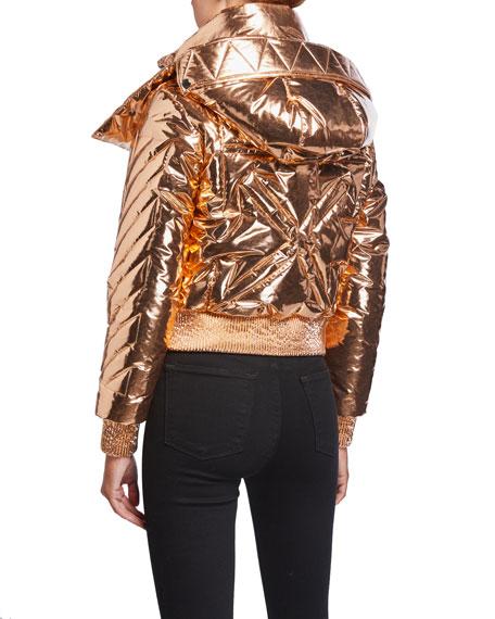 Off-White Copper Down Coat