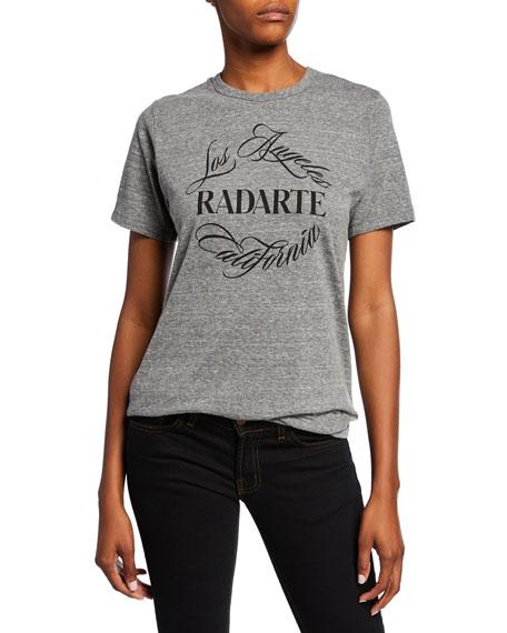 "Rodarte T-shirts RADARTE"" EMBLEM SHORT-SLEEVE T-SHIRT TOP"""