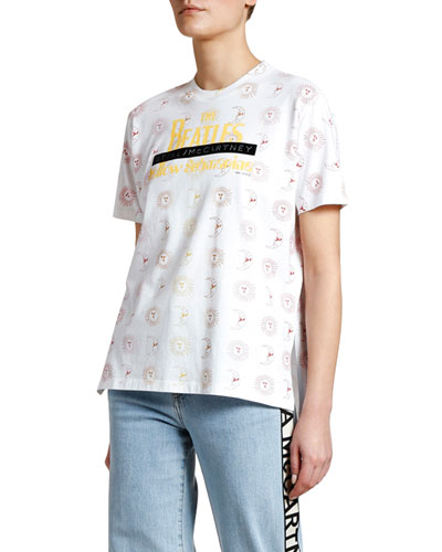 Stars & Moon Yellow Submarine T-Shirt