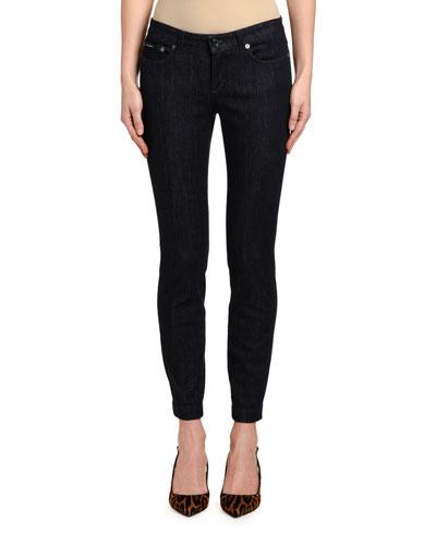 Pretty-Fit Dark Wash Denim Jeans