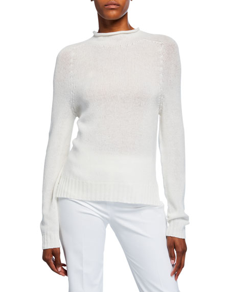 Ralph Lauren Collection Cashmere Lofty Mock-Neck Sweater