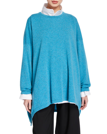 Eskandar Cashmere High-Low Sweater