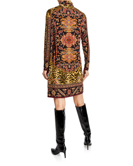 Etro Tiger Neo-Nomad Dress