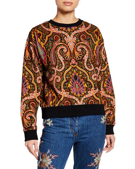 Etro Paisley Crewneck Sweatshirt