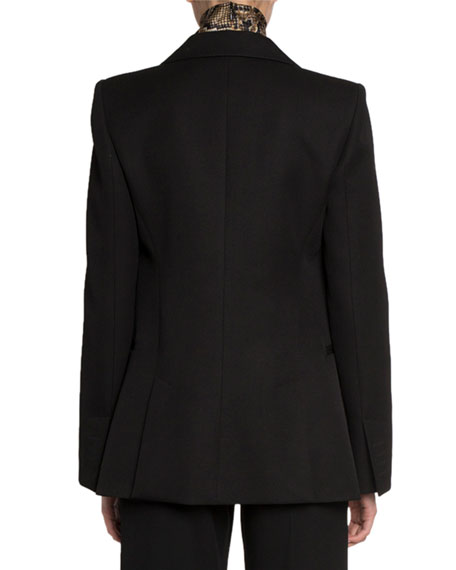 Victoria Beckham Wool Fitted Jacket