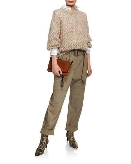 Brunello Cucinelli Couture Gabardine Pants