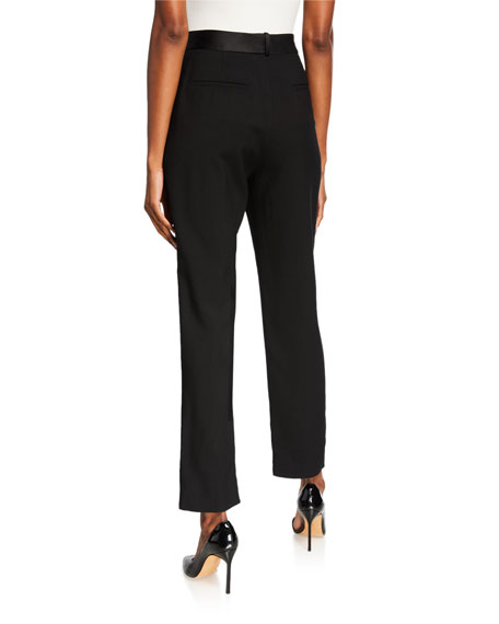 Partow Sawyer Flat-Front Trousers