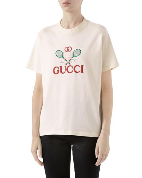 Gucci Tennis Graphic T-shirt