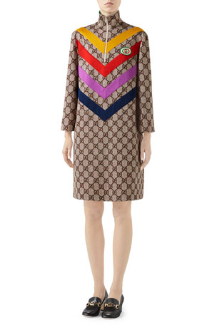 Gucci GG Supreme Print Dress
