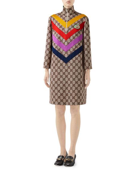 Gucci GG Supreme Print Dress