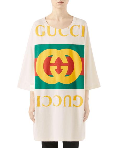 Gucci Oversize GG Logo T-Shirt