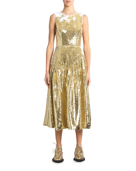 Simone Rocha Sequined Cocktail Dress