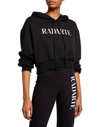 Cropped Radarte Hoodie Sweatshirt