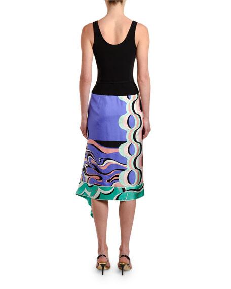 Emilio Pucci Sleeveless Scoop-Neck Dress
