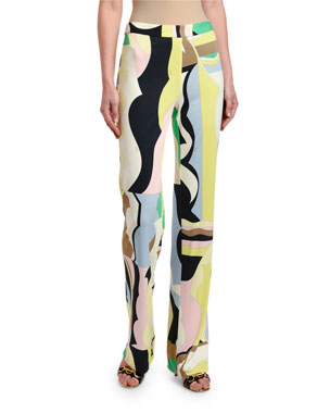 904acd97a26 Emilio Pucci Valauris Palazzo Pants