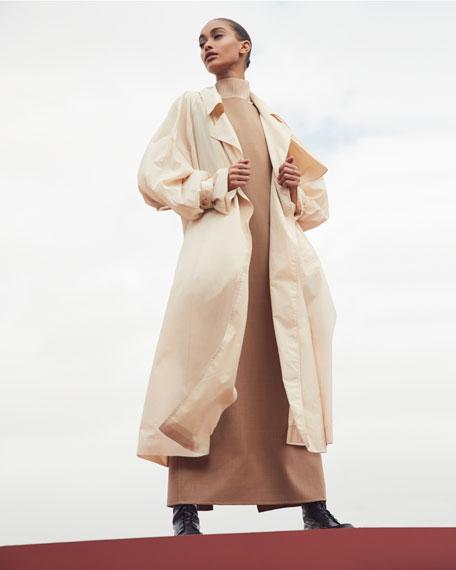THE ROW Riah Bateau-Neck Midi Dress