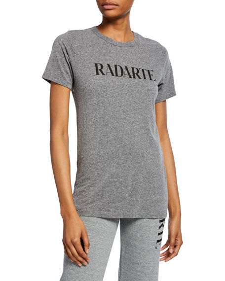 Image 1 of 2: Rodarte Radarte Logo Graphic Tee