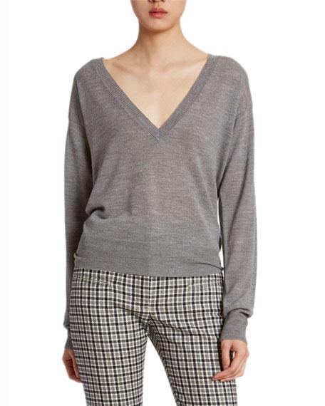 Altuzarra Strass Wool V-Neck Sweater