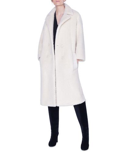 Fluffy Midi Coat