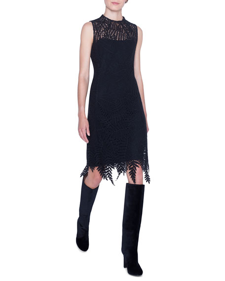 Akris Guipure Lace Dress