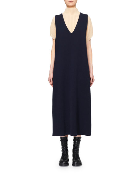 THE ROW Feed Cashmere Sweaterdress