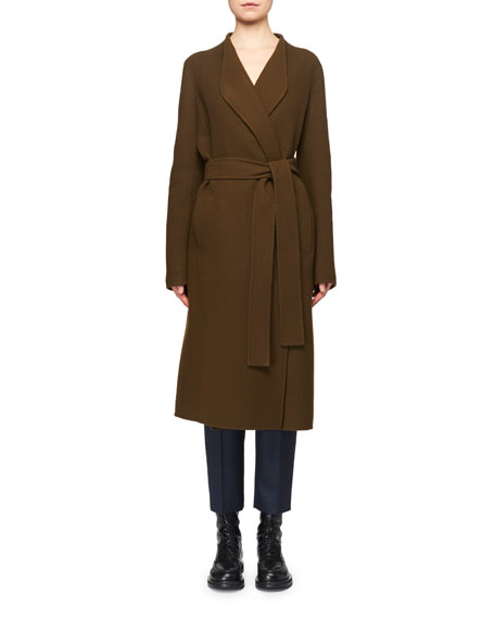 THE ROW Terin Foamy Wool-Cashmere Coat