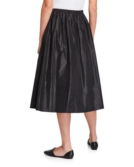 THE ROW Tilia Silk Taffeta Skirt