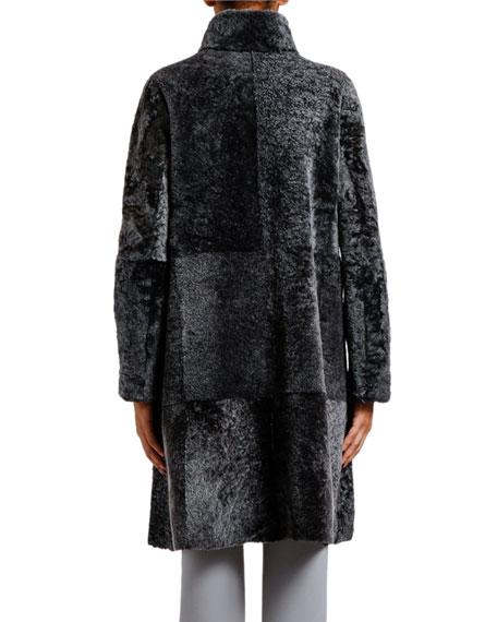 Giorgio Armani Reversible Spanish Lamb Coat