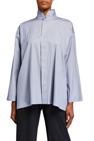 Eskandar Cotton Slim Shirt