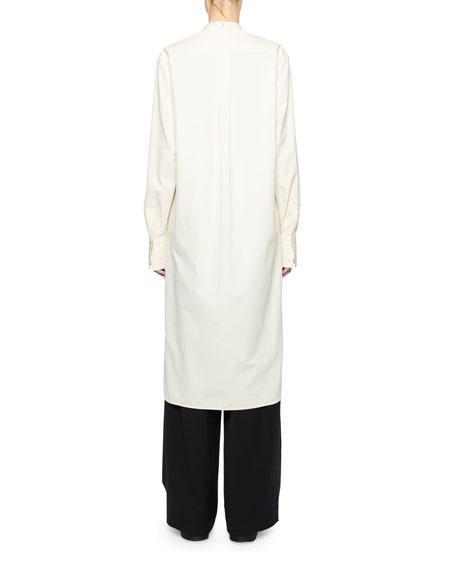 THE ROW Sona Cotton Shirtdress